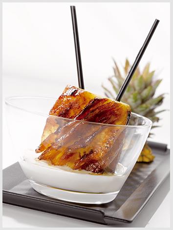 Isigny – Abacaxi Caramelizado ao Creme de Coco